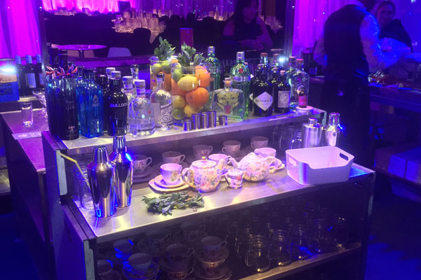 Christmas event bar hire