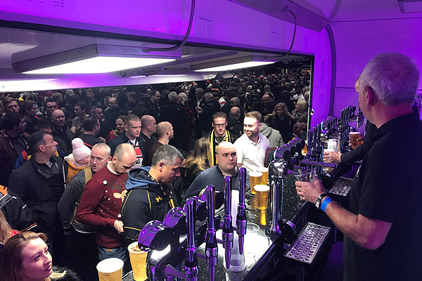 Hire an event bar for your next occasion