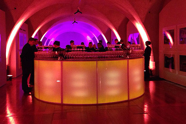 LED mobile bar hire for events