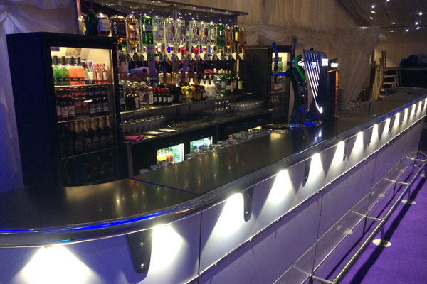 Managed bar hire for events