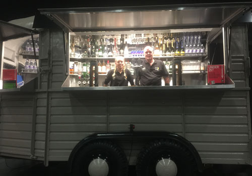 horsebox bars for hire