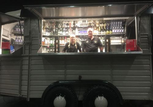 horsebox bars for hire