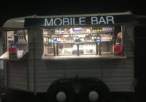 horsebox mobile bar hire