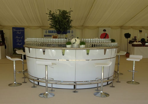 temporary cocktail bar hire